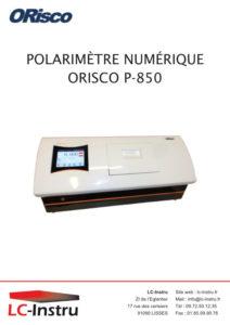 Brochure ORISCO